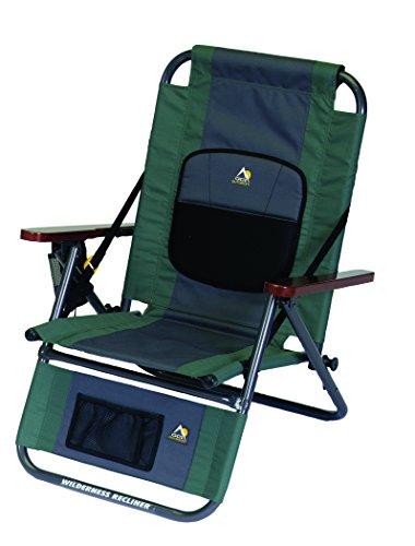 GCI Outdoor Wilderness Recliner Backpack Outdoor Chair, Hunter