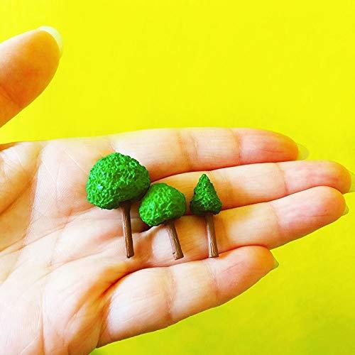 HONIC Großhandel 30 PC/Mini-Bäume/Fee Gartenzwerg/Moos Terrarium Hauptdekor/Handwerk/Bonsai/Flasche Garten/Miniatur/Hauptdekor / A032