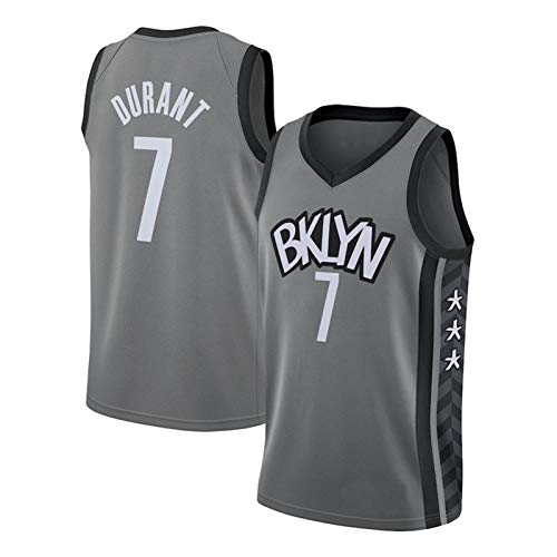Durant # 7 redes chaleco de baloncesto, jersey de baloncesto para interiores y exteriores, fitness, transpirable, cómoda ropa de entrenamiento M