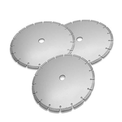 Hoja de sierra circular de 230 mm de diámetro para cortar madera, metal y plástico (paquete de 3)