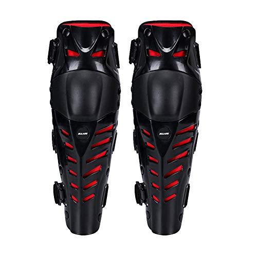 APXZC 1 paar verstelbare kniestukken, antislip slijtvast ademend comfortabel duurzaam gemak flexibel, voor skateboarden off-road racefiets