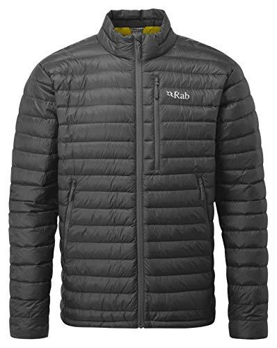 RAB Microlight Jacket Herren Beluga/Dijon Größe M 2019 Funktionsjacke