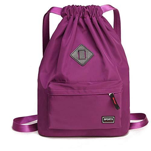Ptcta Mochila de Alpinismo Mochila con cordón para Mujer Oxford Bucket Beam Bag Mochila de Ciclismo Mochila Escolar aliexpress