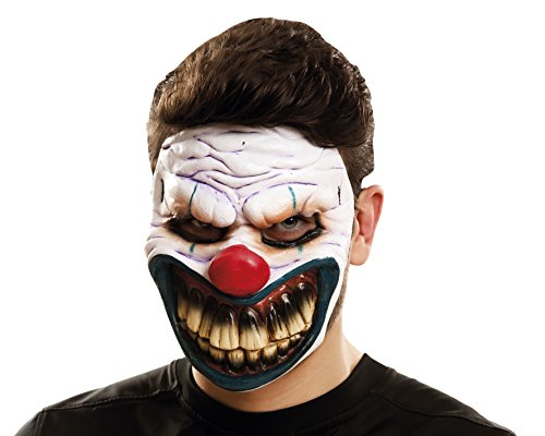 My Autres Me – (viving Costumes mom02351) Evil Clown Masque pour Adulte, Taille Unique