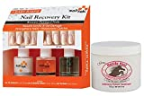 Nail Tek Recovery Kit & Gena Healthy Hoof Cream Bundle, Complete Cuticle and Nail Care to Moisturize, Condition, Treat Cuticles, Fill Ridges and Strengthen Nails