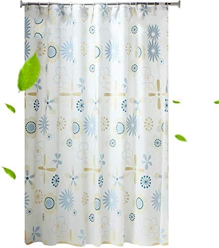 LYLGDL Bad Gordijn Raam Bad Gordijnen met high-end douchegordijn Badkamer Dhick Waterdicht en tegen mijten Partition Gordijn 300 * 200 cm, Maat: 120 * 120cm Douchegordijn Antischimmel