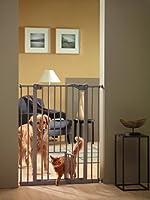 サヴィッチ(SAVIC) ドッグバリアドア キャットドア付き 猫・成犬用 ウォームグレー108cm