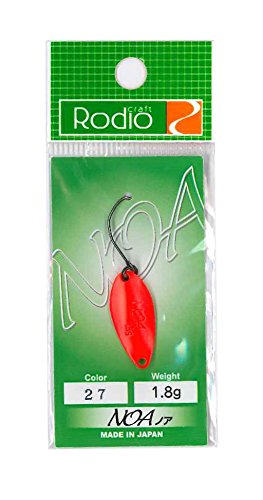 Rodiocraft(ロデオクラフト) NOA(ノア) 1.8g #27蛍光R/ゴールド