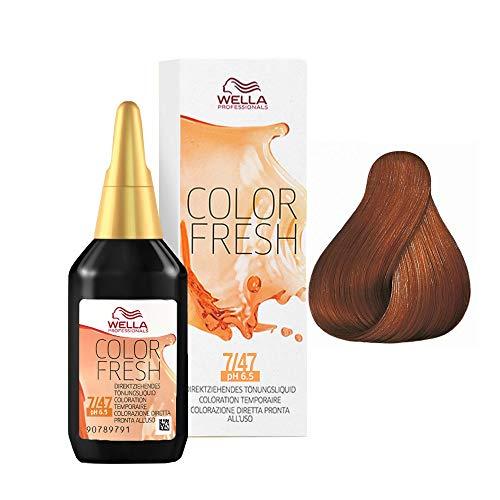 Wella Color Fresh 7/47 mi.blo.rosso-marrone, 75 ml