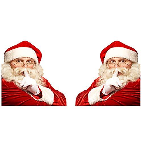 Seasons Shop Auto Heckscheibenwischer Aufkleber,Weihnachten Auto Heckscheibenwischer Wischer Bewegen Heckfahrzeug Autofenster Aufkleber Fur Auto Zubehö PVC Abnehmbare Weihnachtsdekoration