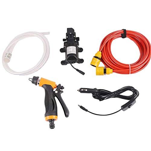 MOZUSA 65W 12V Coche Lavadora Kit de Alta presión Bomba de Agua Conjunto de Lavado Pistola de pulverizador eléctrico Instrumentos