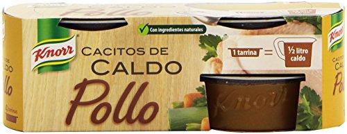 Knorr Cacito de Caldo Pollo, 4 Tarrinas