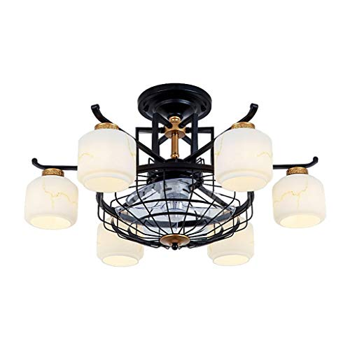 Ventilador de techo 80 cm salón comedor dormitorio hogar ventilador de techo luz