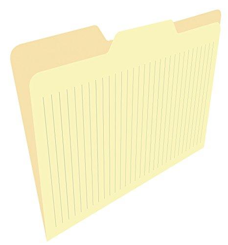Find It Ruled File Folders, 12 Pack, Manila (FT07466)