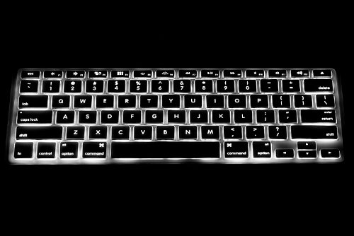 UPPERCASE Ultra Thin Clear Soft TPU Keyboard Cover Skin for 2010-2017 MacBook Air 13 13.3 Inch