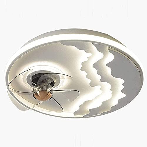 Moderno ventilador de techo simple con luces 5 cuchillas de madera Ventilador de techo Luz de techo con diseño elegante de diseño elegante remoto Ventilador de lámpara de chandelier de interior Motor