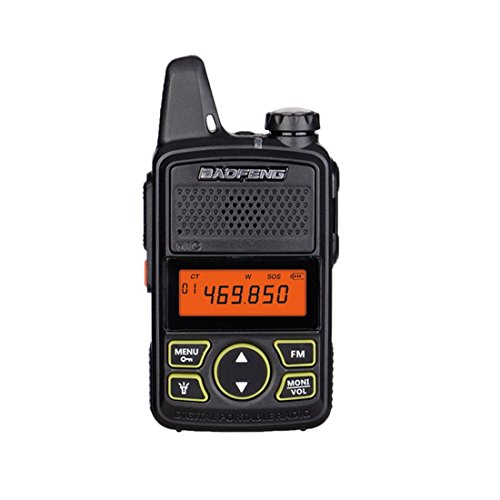 Baofeng BF-T1 Walkie Talkie MINI Radio UHF 400-470MHz FM Transceiver With PTT Earpiece Hotel Civilian Radio Comunicacion Transceiver Two Way Radio