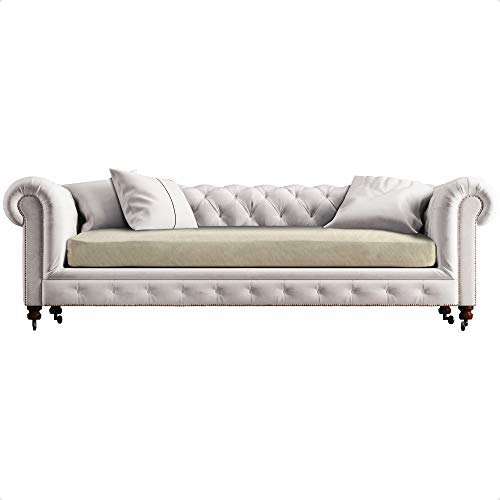 CIUCO COCCIUTO Funda elástica para sofá de 3 plazas – no se dobla ni se borra – Fabricada en Italia