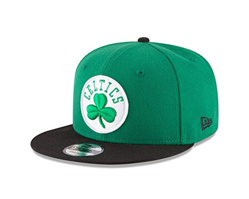 New Era NBA Boston Celtics Men's 9Fifty 2Tone Snapback Cap, One Size, Green