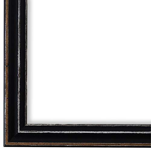Online Galerie Bingold Bilderrahmen Schwarz DIN A3 (29,7 x 42,0 cm) cm DINA3(29,7x42,0cm) - Modern, Shabby, Vintage - Alle Größen - handgefertigt - WRF - Cosenza 2,0