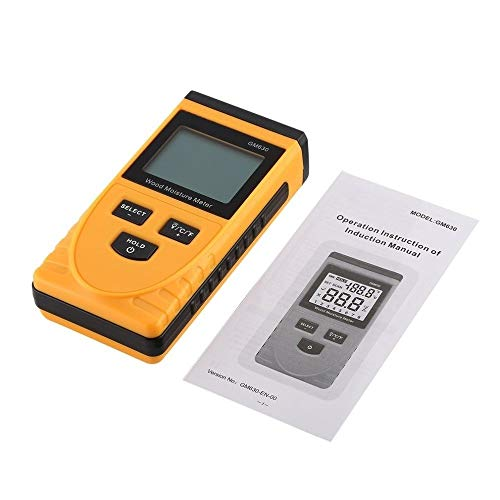 Mini vochtmeter Digital LCD Display Wood Soil Moisture Vochtigheid Test watergehaltemeter Detector Density Hygrometer Vochtmeter GM630 houtvochtigheid
