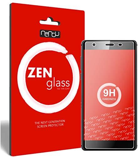 ZenGlass (2 Stück Flexible Glas-Folie kompatibel mit Oukitel U13 Panzerfolie I Bildschirm-Schutzfolie 9H I (Kleiner Als Das Gewölbte Bildschirm)