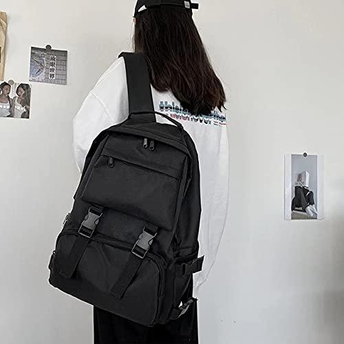 Estudiante Ocio Mochila Mujer Hombre Corea Moda Retro Mochila Mochila Mochila Viaje Mochila Muchachas Adolescentes Mochilas