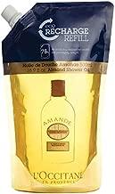 L'Occitane Cleansing & Softening Almond Shower Oil, 16.9 Fl Oz