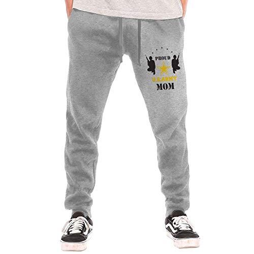 Axige888 Us Army Mom2 - Pantalones largos deportivos para hombre