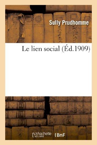 Prudhomme, S: Lien Social (Sciences Sociales)