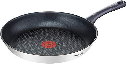 Tefal Daily Cook - Sartén de 30 cm, antiadherente de acero inoxidable, para todo tipo de cocinas incluido inducción