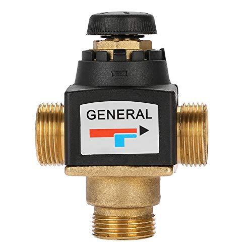 Válvula mezcladora termostática, válvula termostática, DN20 para el hogar