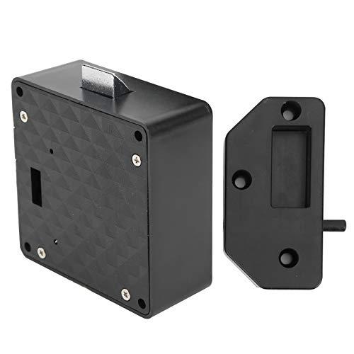 Tomanbery Cerradura Digital Cerradura de inducción Inteligente Casillero de Tarjetas de identificación de bajo Voltaje Digital Inteligente para Armario de Seguridad privada para armarios de cajones
