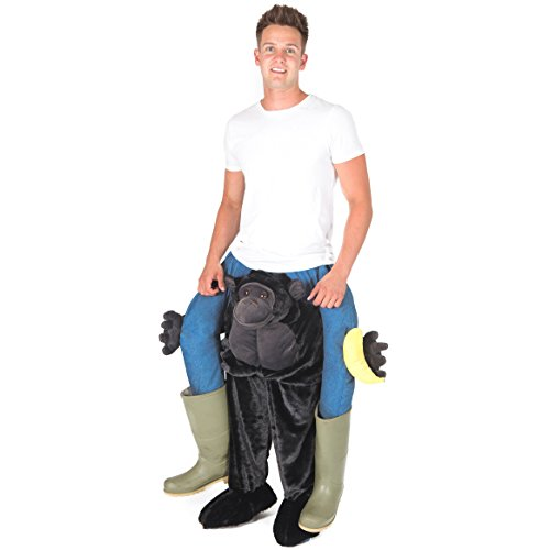 Bodysocks® Déguisement Carry Me Gorille Adulte