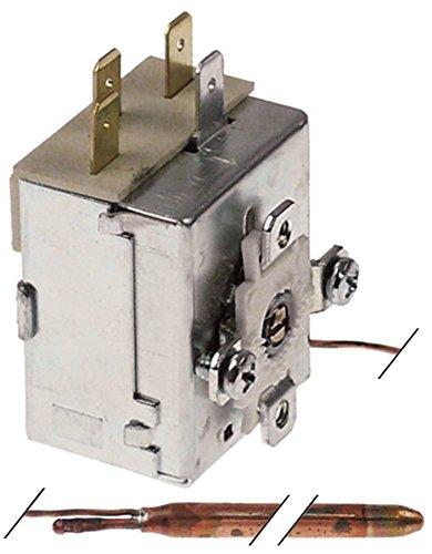 Imit - Termostato para lavavajillas Comenda LC1200, LC700, LC900, LC1200RCD, LC412 (conector plano 6,3 mm, 1 pines, 1 CO, 1 pin)