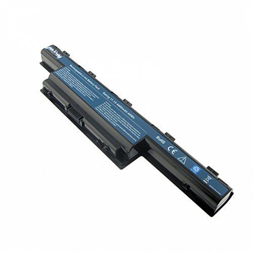 MTXtec Batterie, LiIon, 11.1V, 4400mAh, Noir pour Acer TravelMate 4740