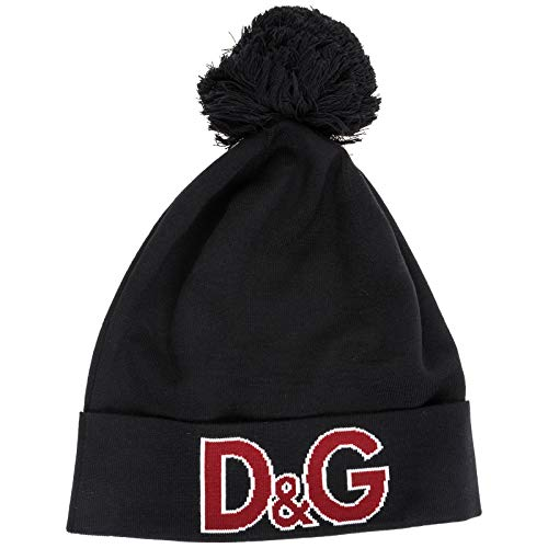 Dolce&Gabbana gorro de mujer de lana sombrero nuevo negro