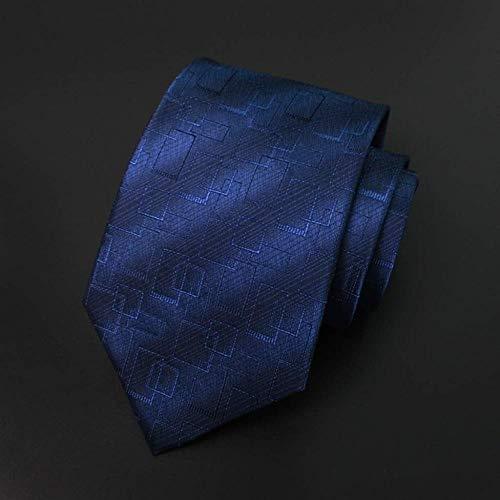 WYH eenvoudige, professionele stropdas Classic Gentleman stropdas Tempo Libero en Business Standard Conventioneel Tie 145 × 9,5 cm duurzaam