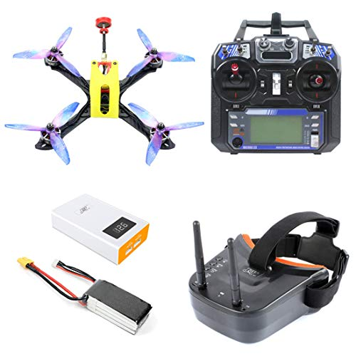 FEICHAO Owl215 Distancia Entre Ejes 215 mm FPV Racing Drone DIY RC Drone Quadcopter PNP BNF RTF con F4 Controlador de Vuelo 1200TVL Cámara FPV VTX