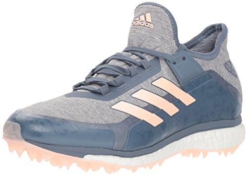 adidas Originals Damen Fabela X Hockeyschuh, Blau (Stahl roh/klar orange/grau), 36 EU