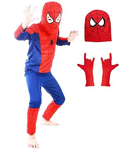 FancyDressWale Superhero Dress for Kids (Medium (4-6 Yrs)