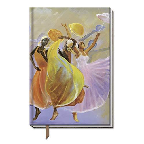 Shades of Color LCJ124 - Cuaderno de tela de tribute (160 páginas, 12,7 x 20,3 cm)