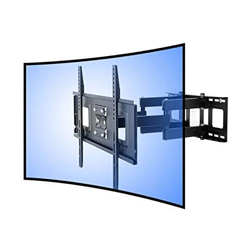 FLEXIMOUNTS CR1 Soporte de Pared para TV Curvo cuadra a televisor UHD OLED 4k Samsung LG Vizio etc de 32'-65' (81-165cm)