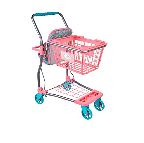 Super CUTE PINK/BLUE My Sweet Love Shopping Cart - Perfect Accesory For Shop Or Grocery Pretend Play