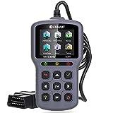 CGSULIT OBD2 Scanner Car Code Reader, SC301 OBDII Diagnostic Scan Tool for Vehicles Check Engine Light, Emission Analyzer, O2 Sensor Test, Smog Check, Car Health Monitor and Repair Tool, Grey
