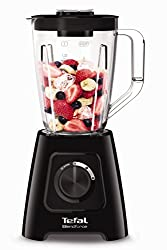 Optimum blending: a 600W motor, four robust stainless-steel blades and a tapered jug shape combine for efficient blending without chunks, every time. It even crushes ice with ease. Cool running: the built-in air cooling system optimizes airflow throu...