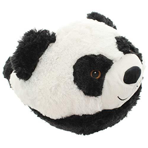 Fußwärmer aus kuscheligem Plüsch im süßen Tier-Design (Panda)