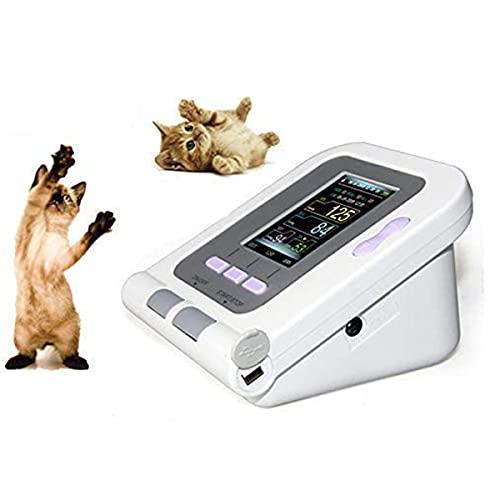 QNMM Tensiomètre Électronique Vétérinaire Tonomètre de Tensiomètre Automatique avec 3 Brassards, pour Chien/Chat/Animaux Domestiques