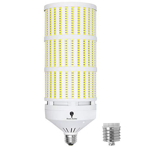 1000W Equivalent LED Corn Light Bulb 20000 Lumen 6000k Daylight 150W E26 Base with E39 Adapter 120V Large Area Corn Bulb for Indoor Garage Light Bulb Warehouse Workshop Barn High Bay 150W LED Bulb