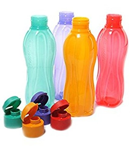 Tupperware Aquasafe – Botella de agua con tapa 1ltr 1000 ml
